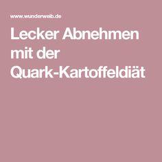 Lecker Abnehmen mit der Quark-Kartoffeldiät