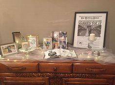 ウェルカムスペース❤️ シンプルに、だけどセンス良く、にこだわりました! 前撮りの写真や、ブライダル新聞を飾りました❤️ 大好きな写真集も! #プレ花嫁卒業 #卒花 #卒花嫁 #ウェルカムスペース #結婚式レポ #ウエディングレポ #ウエディングレポート #ブライダル新聞 #ザラホーム #zarahome #IKEA #イケア Welcome Boards, Wedding Notes, Wedding Table Decorations, Getting Married, Display, Instagram, Weddings, Space, Interior