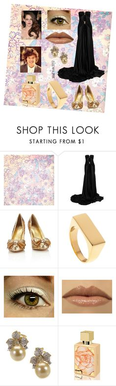 """Movie Premeire"" by mad-york ❤ liked on Polyvore featuring BasicGrey, Balmain, Wallis and A Dozen Roses"