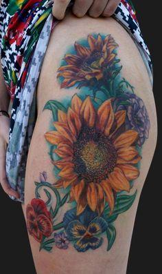 Jamie Parker - Sunflower Tattoo