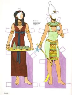 Ancient Egypt | Gabi's Paper Dolls
