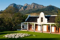 At Babylonstoren Hotel the words 'luxury' and 'rural-life' go hand-in-hand, nested between Stellenbosch and Franschhoek, they are more than a fitting description of this unique destination. Surrounded by a stunning 9 acre farm garden Great Places To Travel, Cape Dutch, Dutch House, Cape Town South Africa, Blog Deco, Hotel Reviews, Jewel, Unique, Wanderlust
