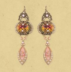 Michal Negrin DANGLE EARRINGS 15509