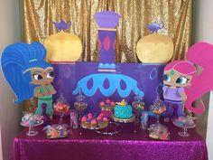 Sya's Shimmer and Shine 1st Birthday  | CatchMyParty.com