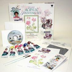 Scheewe Deluxe Acrylic Set with Dvd - S8901