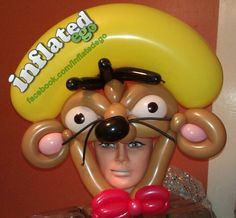 Speedy Gonzales Balloon Mask