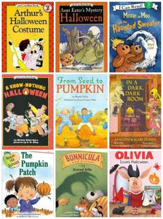Early Reader (ER) Books with Halloween themes -- fun way to get kid reading!