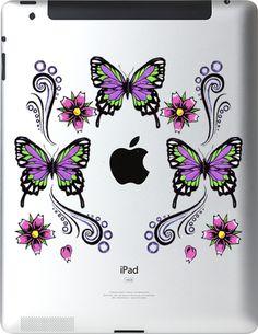 Ipad Decals : butterflies