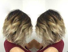 Balayage Ombre Short Hair