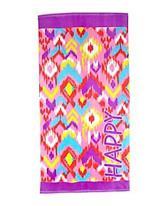 Shop Ikat Happy Beach Towel and other trendy girls beach towels & bags swim accessories at Justice. Find the cutest girls swim accessories to make a statement today. Cheap Girls Clothes, Clothes For Sale, Tween Girls, Cute Girls, Beach Towel Bag, Towel Girl, Shop Justice, Girls Swimming, Discount Clothing