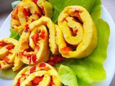 Omleta rulata cu ardei 30 Minute Meals, My Recipes, Shrimp, Tacos, Mexican, Meat, Cooking, Ethnic Recipes, Food