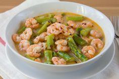 Make and share this garlic shrimp with asparagus recipe from Food.com.