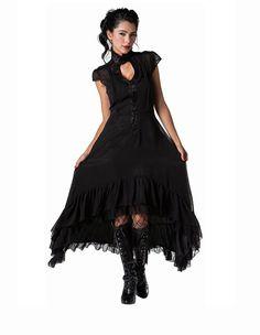 Romantic Flowing Layer Dress :: VampireFreaks Store :: Gothic Clothing, Cyber-goth, punk, metal, alternative, rave, freak fashions