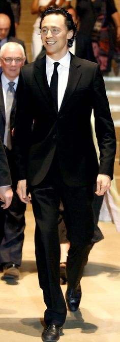 Suited Hiddles, mm yeah.