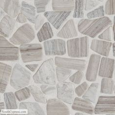 River Pebbles x - Chenille White Tumbled Mosaic Pebble Mosaic, Stone Mosaic, Mosaic Tiles, Tiling, Mosaics, River Pebbles, White Pebbles, Dal Tile, Decorative Pebbles