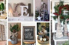 38 Festive Rustic Farmhouse Christmas Decor Ideas to Make Your Season Both Merry and Bright