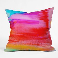 Amy Sia Rush 1 Outdoor Throw Pillow | DENY Designs Home Accessories