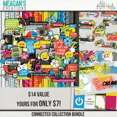 Connected Collection Bundle by Meagan's Creations