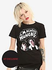Riverdale Jughead Always Hungry Girls T-Shirt Hot Topic Exclusive Riverdale Shirts, Hot Topic Clothes, Betty And Jughead, Pastel Goth Fashion, Always Hungry, Scene Girls, Tank Girl, T Shirts For Women, Birthday List