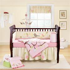 Love Bird Baby Crib Bedding Sets by Banana Fish
