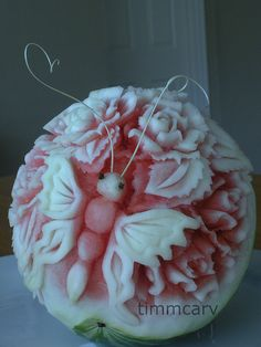Butterfly - Watermelon Carving...