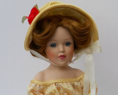 Vintage Porcelain Doll  Sweet Southern Belle Doll Visit my Etsy shop for a discount coupon posted on my banner