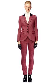#Alexander McQueen - McQ Womenswear - 2012 Pre-Fall  Women's suits #2dayslook #new style #suitsdresses  www.2dayslook.com
