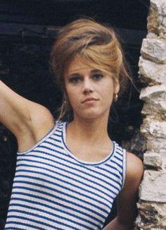 Stripe tank - Jane Fonda