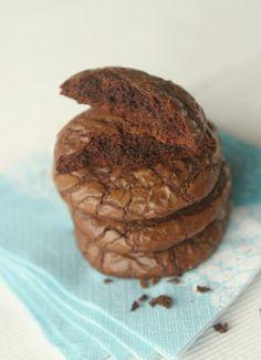 Marias Salt og Søtt: Myke sjokoladecookies(Soft chocolate cookies)