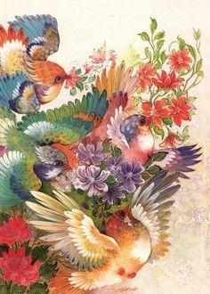 گل و مرغ