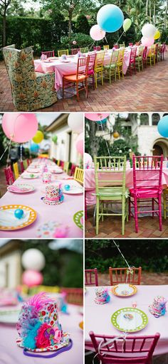 Candyland Themed Birthday Party: decors
