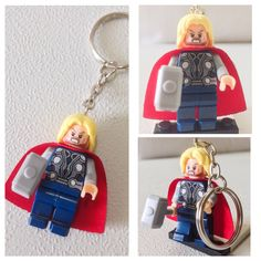 A personal favorite from my Etsy shop https://www.etsy.com/listing/187360108/bogo-buy-1-get-1-promo-lego-thor-of