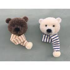 Pom Pom Crafts, Yarn Crafts, Pom Pom Animals, Mini, Crafts For Kids, Projects To Try, Teddy Bear, Instagram Posts, Bear Patterns