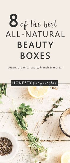 Beauty box subscriptions that will rock your natural skincare socks off! These 8 promise to always be packed full of the good stuff. Natural oils, natural butters and even natural haircare. Have you tried any of these? Which is your natural beauty fav? Click through to gander at all 8.