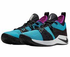 2ab11a6b6528 Nike PG 2 Mens Basketball Shoes 12 Blue Lagoon Black Hyper Violet Paul  George  Nike
