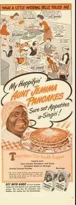 1940 Aunt Jemima Pancakes Ad