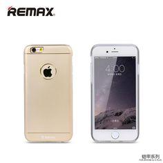 Ốp lưng Remax Creative Iphone 6. Vỏ ngoài bằng nhôm tuyệt đẹp, bên trong được lót lớp Silicon êm ái, chống sốc cực tốt