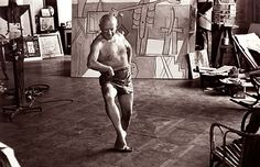 """August 12, 2016 letter, LONGEVITY, """"Physicians are at odds regarding the possible dangers to the still-forming skeletons of young gymnasts..."""", (image:  Pablo Picasso dancing in his studio, 1957 photo by David Douglas Duncan)"""
