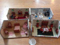 Dollhouse Miniature Tiny Room Box Lot | eBay