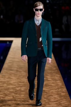 Prada Spring 2015 Menswear - Collection - Gallery - Style.com