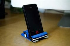 Lego phone/tablet stand