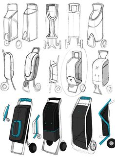 TROLLEY for BTWIN on Behance