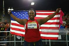 Olympian Michelle Carter