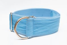 Beautiful blue tulle collar, one size fits all sighthounds (adjustable). 4cm wide. Avaliable in every colour. Whippet collar, sighthound collar.