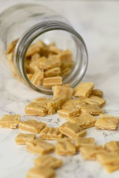 The perfect homemade high-value dog treats for training. Easy, inexpensive, and irresistible to dogs. From http://BakingMischief.com