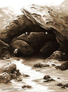 """Shelter"" Art Print, Michael Manomivibul"