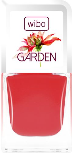 Lakier GARDEN nr 3 #nails #manicure #wibo #wibokosmetyki #kosmetyki #nailsart #color #garden #flower #new