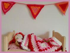 love the dolls blanket