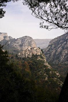 Vue de Peillon, Provence, France
