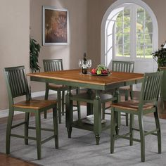 Candice 5 Pc. Counter Storage Table Dining Set By Steve Silver